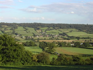 A view of Otter Valley, Devon