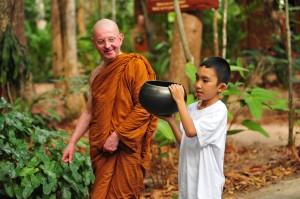 Ajahn Khemadhammo at Wat Pah Nanachat