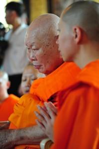 Somdet Buddhajahn at Wat Saket