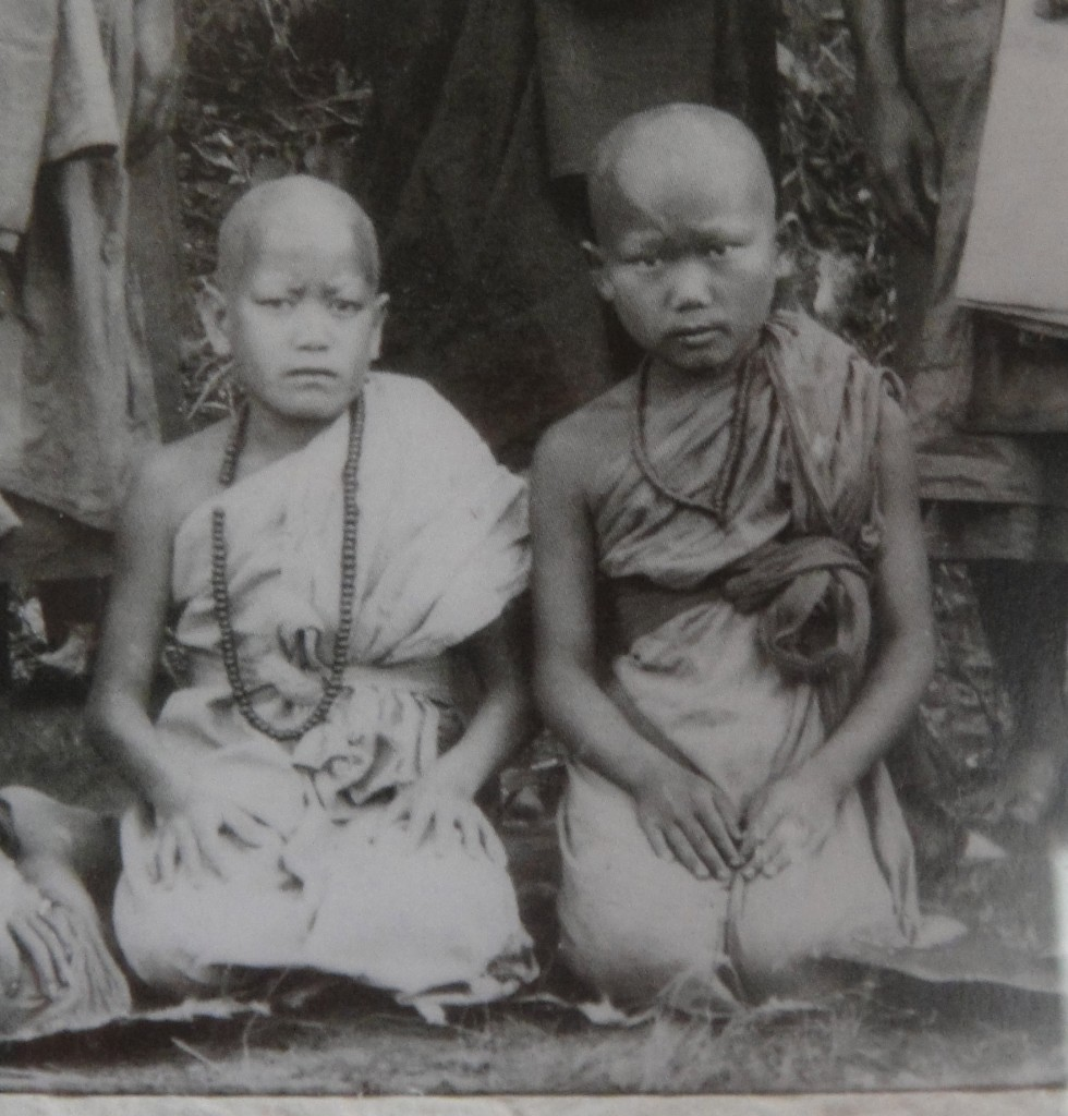 Novices at a Meditation Retreat at Wat Pa Phon Pao, Laos