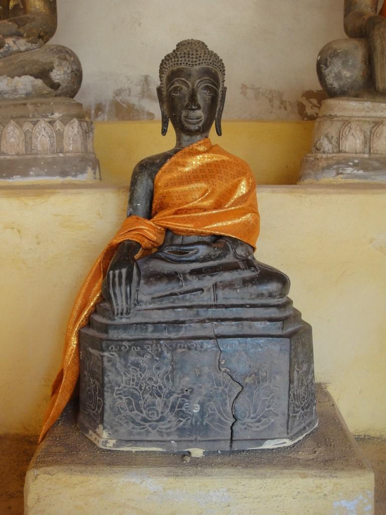 Buddha Rupa at Wat Sisaket, Vientiane