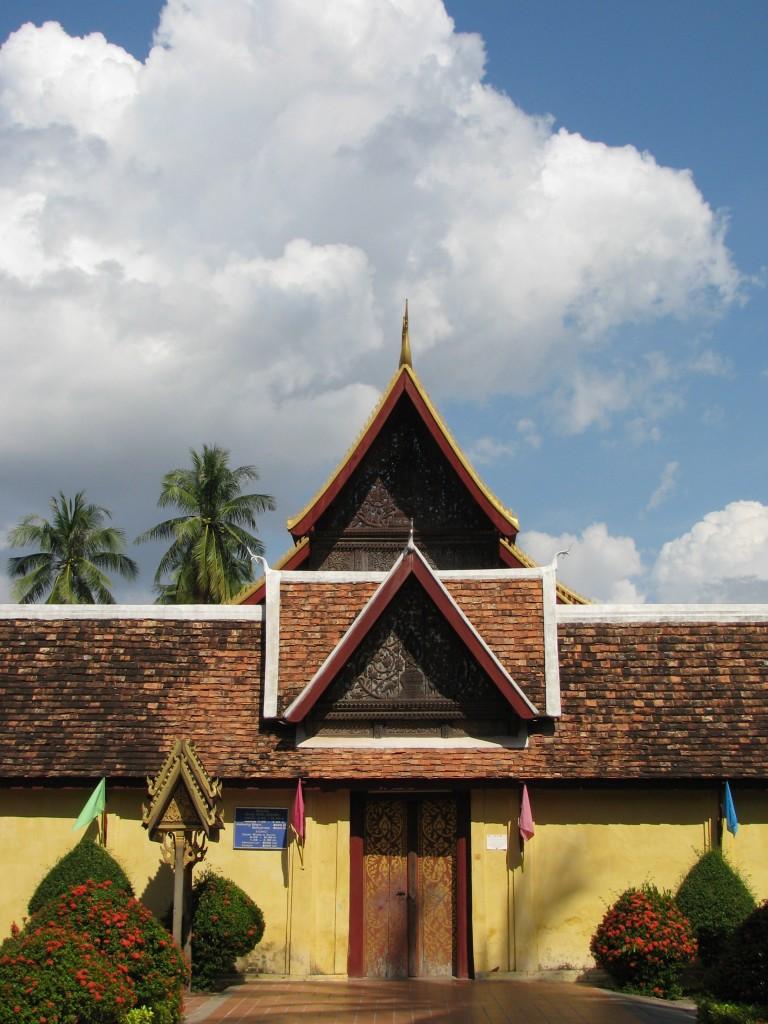 Entrance to Wat Sisaket, Vientiane