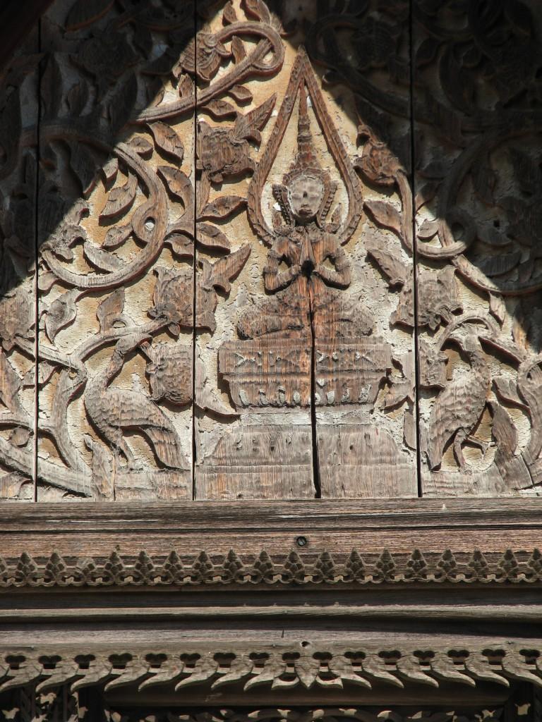 Gable Roof at Wat Sisaket, Vientiane