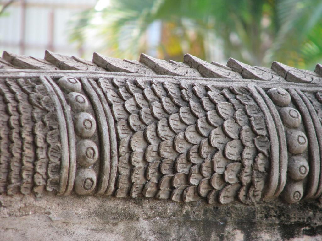 Naga Balustrade at Haw Pha Kaew, Vientiane