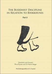 Cover Part II Bhikkhuni Book